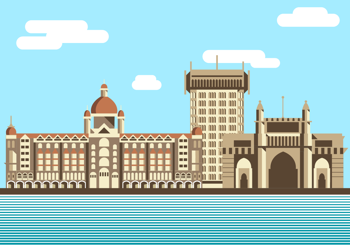 Free Mumbai Vector Download Free Vector Art Stock