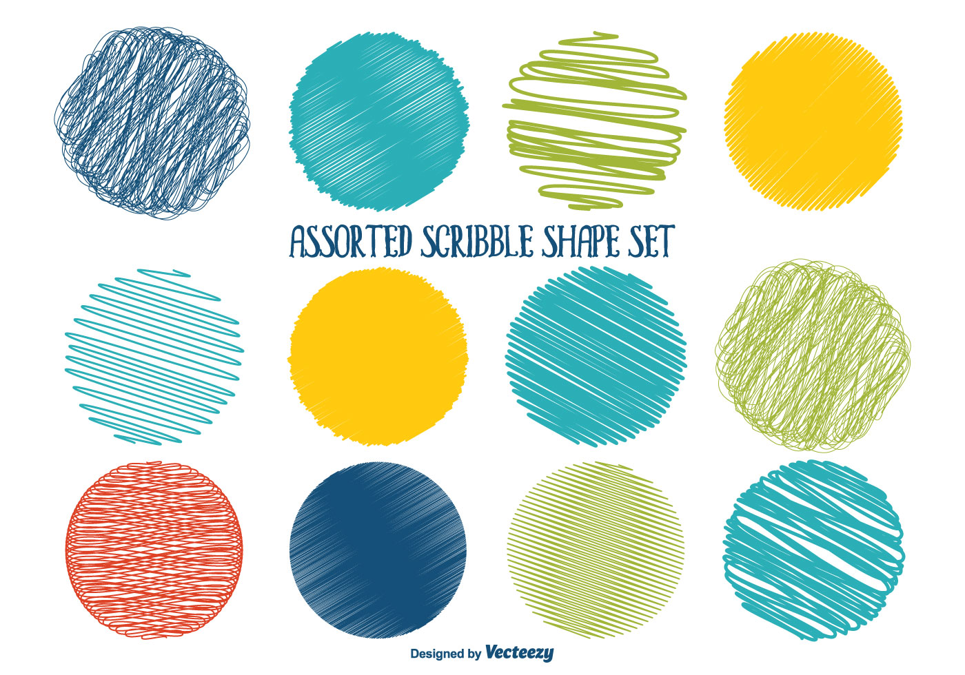 Scribble Drawing Objects : Scribble free vector art downloads