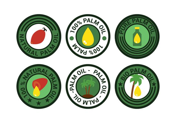 Palm Oil Vector