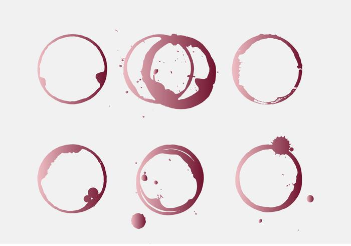 Vector Wine Stain
