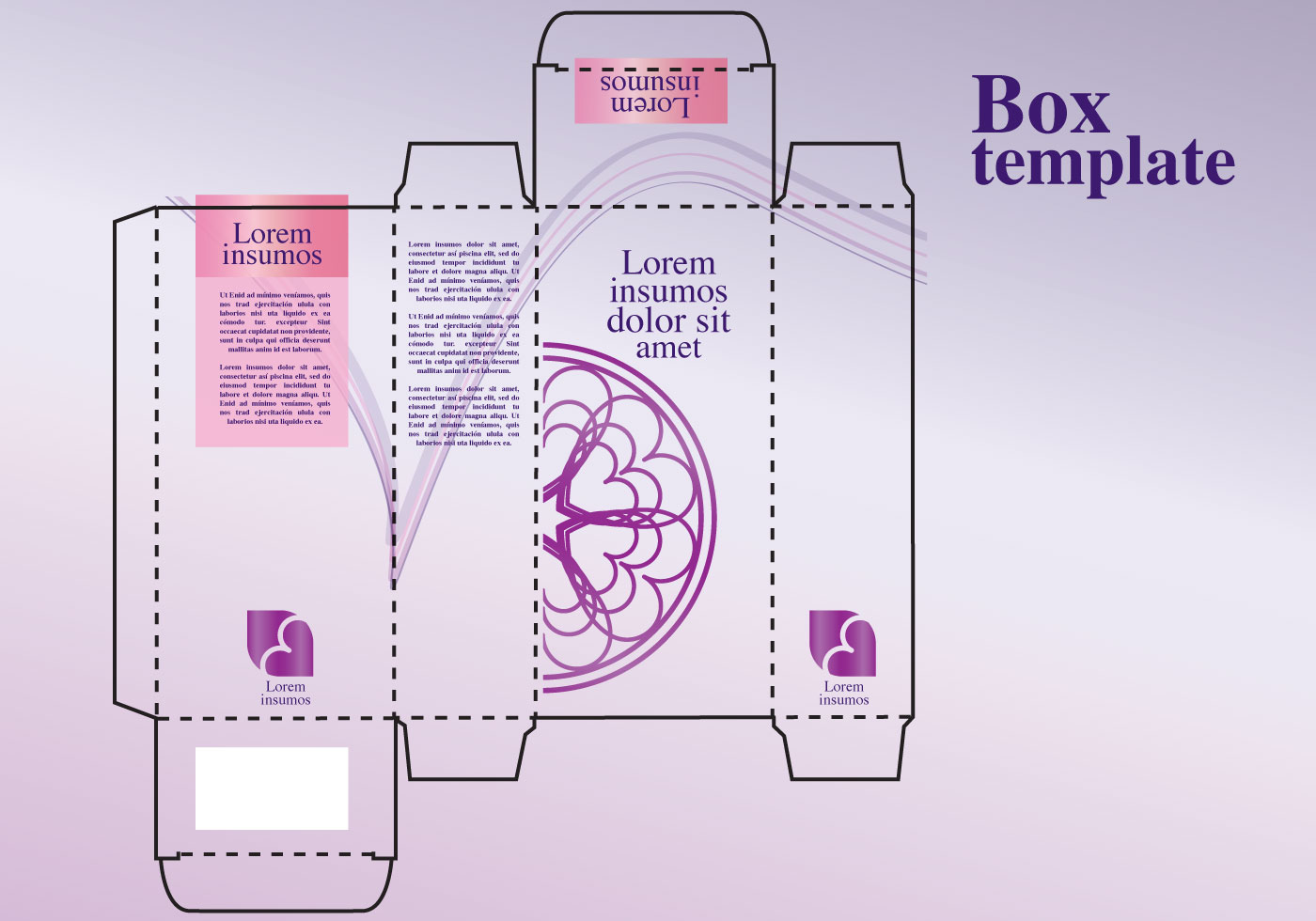 Perfume box design download free vector art stock for Cologne box template