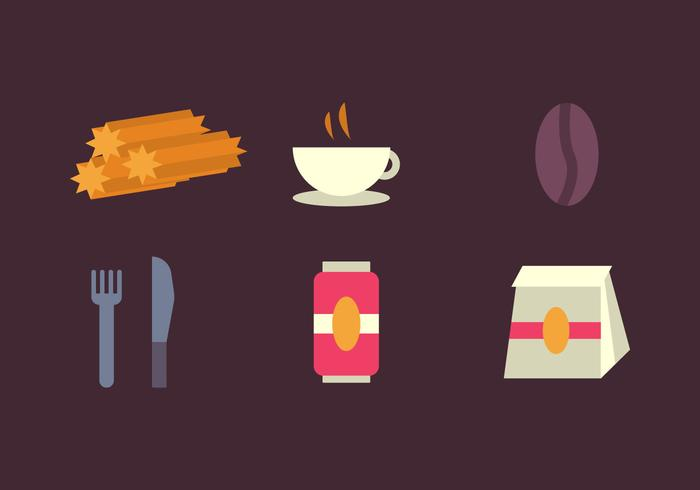Free Churros Vector Icons #3