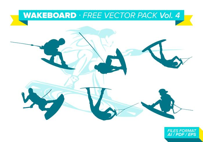 Wakeboard Free Vector Pack Vol. 4