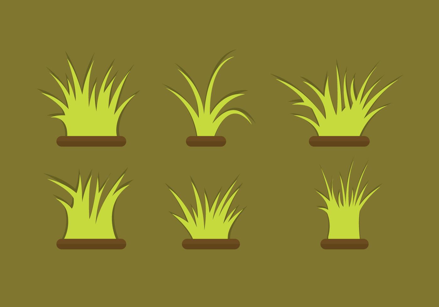 free vector clipart grass - photo #16