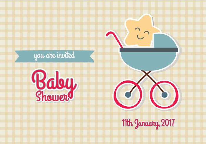 Baby shower invitation vector illustration eps10 download free baby shower invitation vector illustration eps10 stopboris Image collections