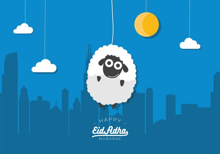 Vector Eid Al A... Free Holiday Banner Clip Art