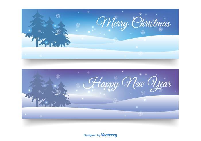 Weihnachten Banner Set