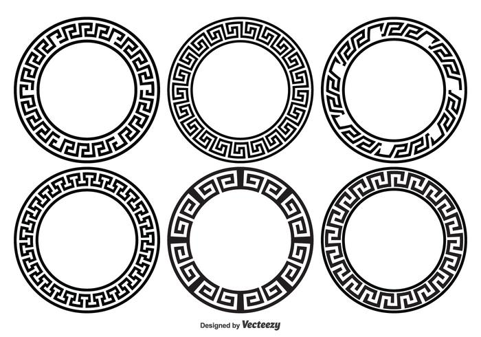 Greek Key Border Style Frames - Download Free Vector Art, Stock ...