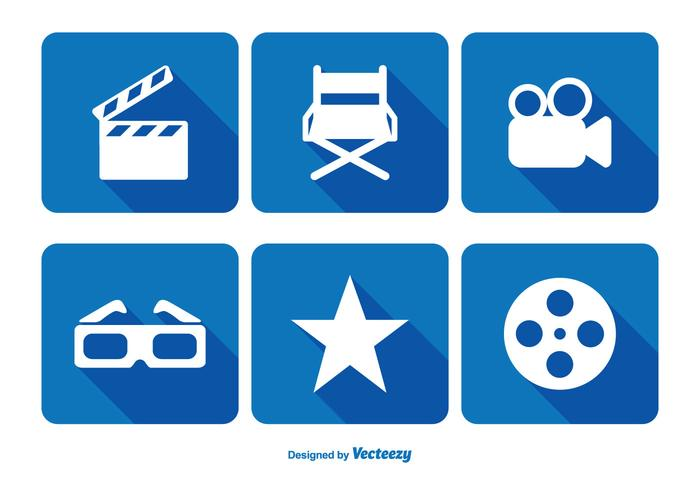 Cinema Related Icon Set