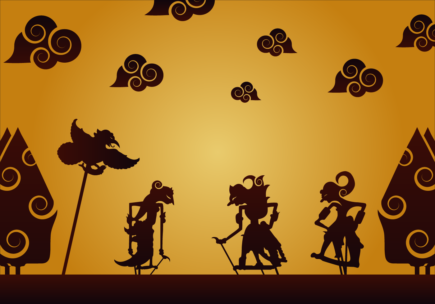 Free wayang vector download free vector art stock graphics amp images