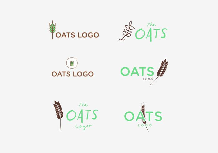 Oats logo Vector