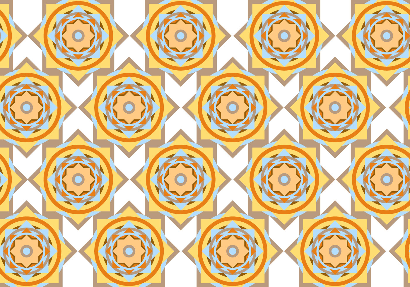 abstract circle geometric pattern vector download free
