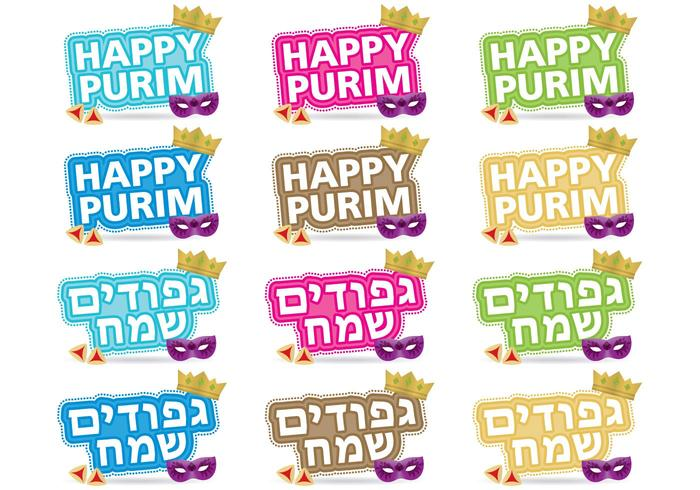 Purim Titles Download Free Vector Art Stock Graphics