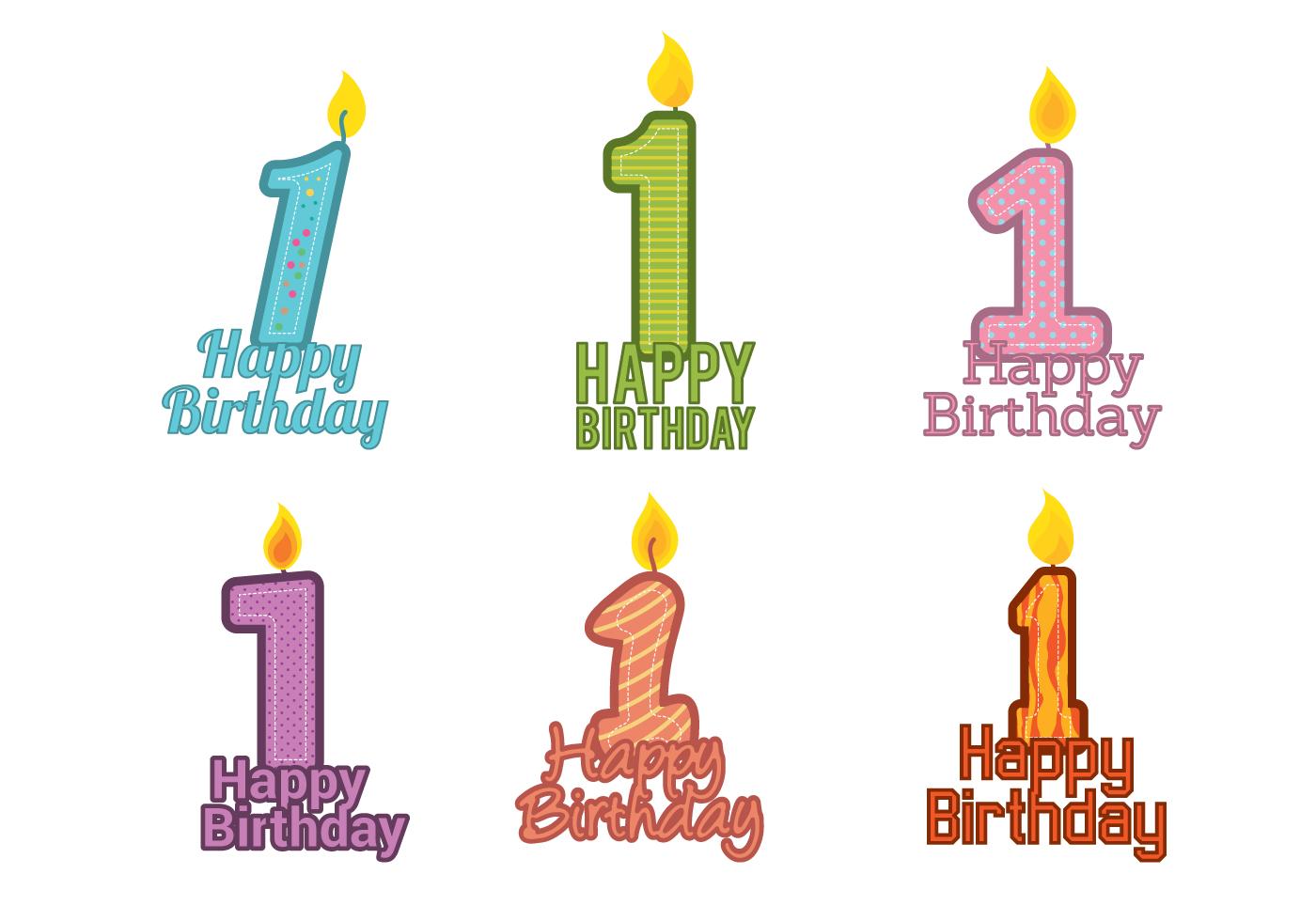 1st Birthday Vector - Download Free Vector Art, Stock ...