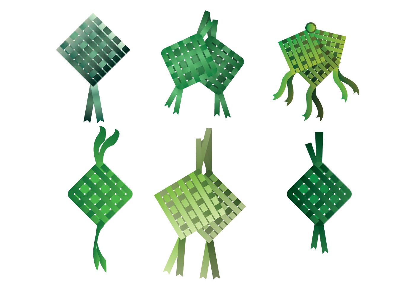 Ketupat Vector - Download Free Vector Art, Stock Graphics