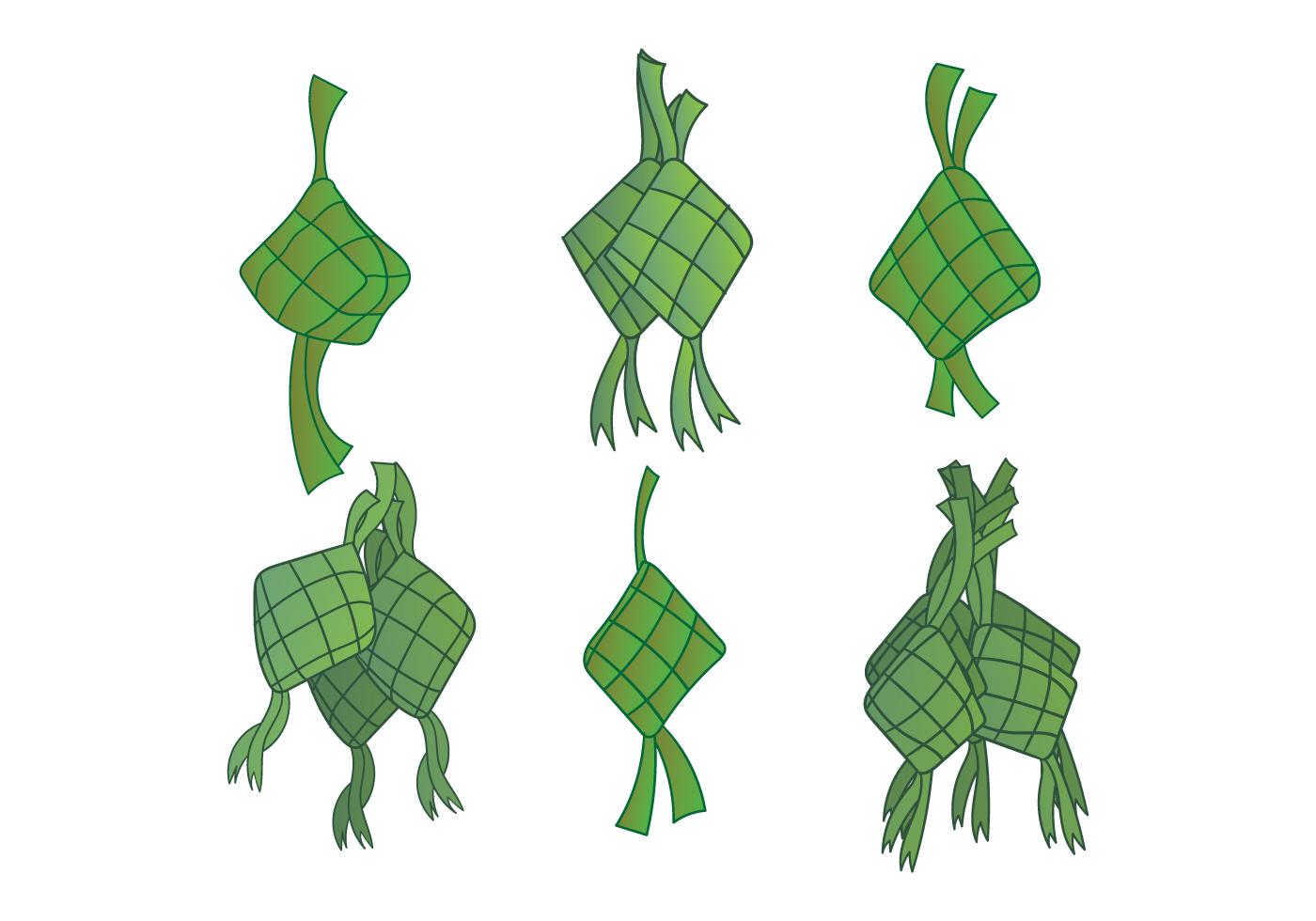 Ketupat Vector - Download Free Vector Art, Stock Graphics & Images