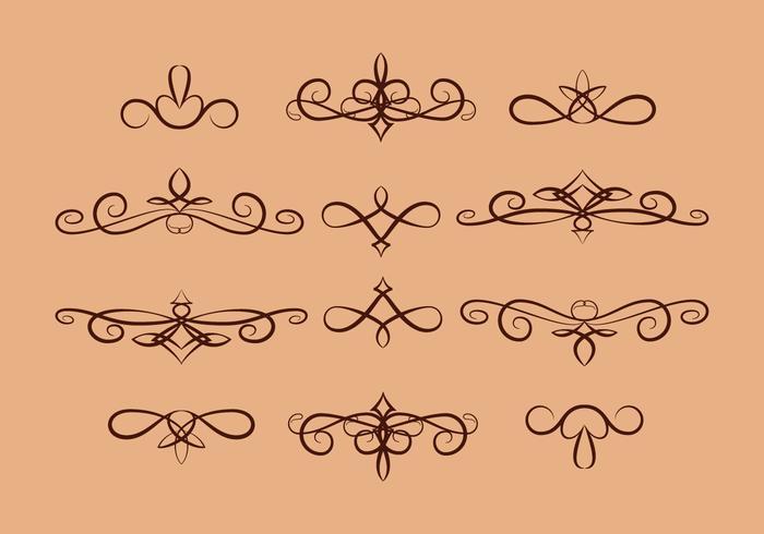 Vector Scrollwork