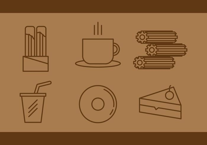 Free Churros Vector Icons # 1