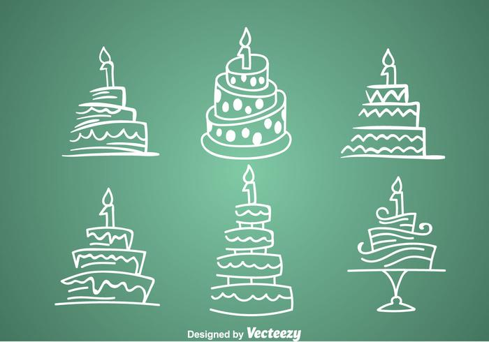1st Birthday Cake Icons Download Free Vector Art Stock Graphics