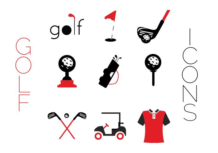 Creative Golf icons