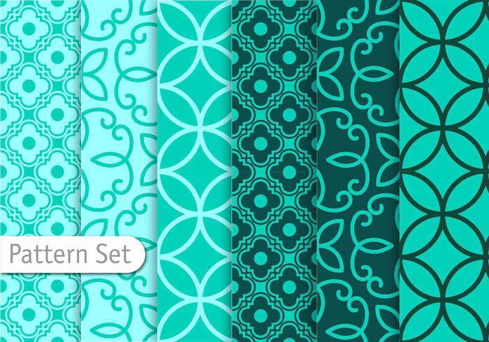 Decorative Geometric Pattern Set