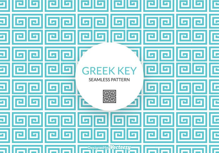Free Greek Key Vector Pattern
