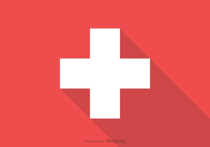 Free Swiss Flag Vector