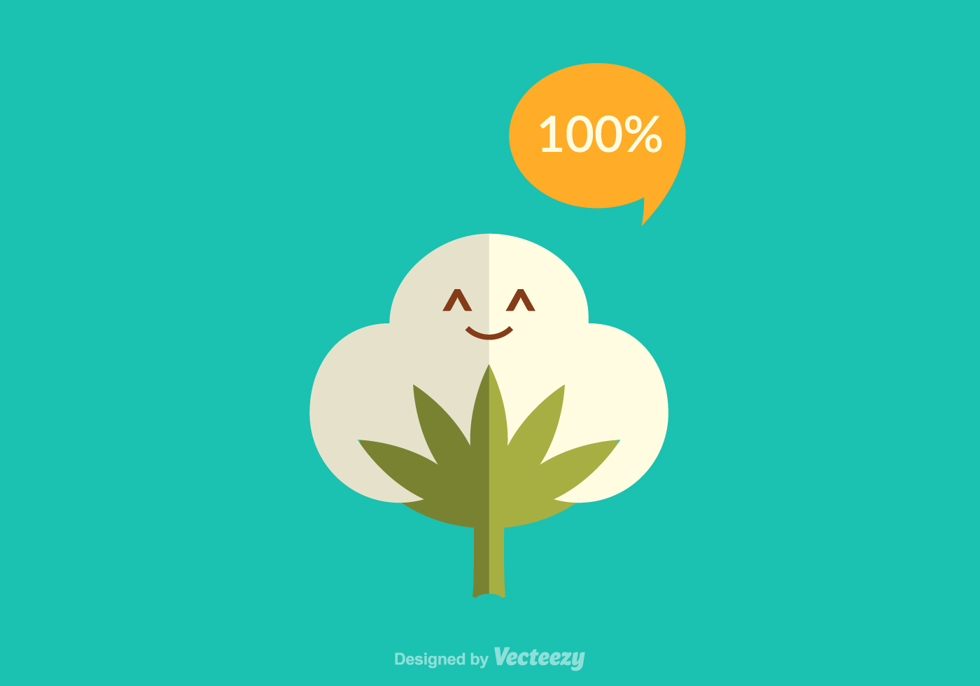 Free Cotton Plant Vector - Download Free Vector Art, Stock ...