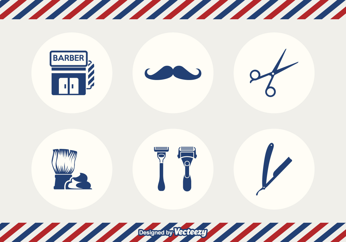 Barber Vector : Free Barber Tools Vector - Download Free Vector Art, Stock Graphics ...