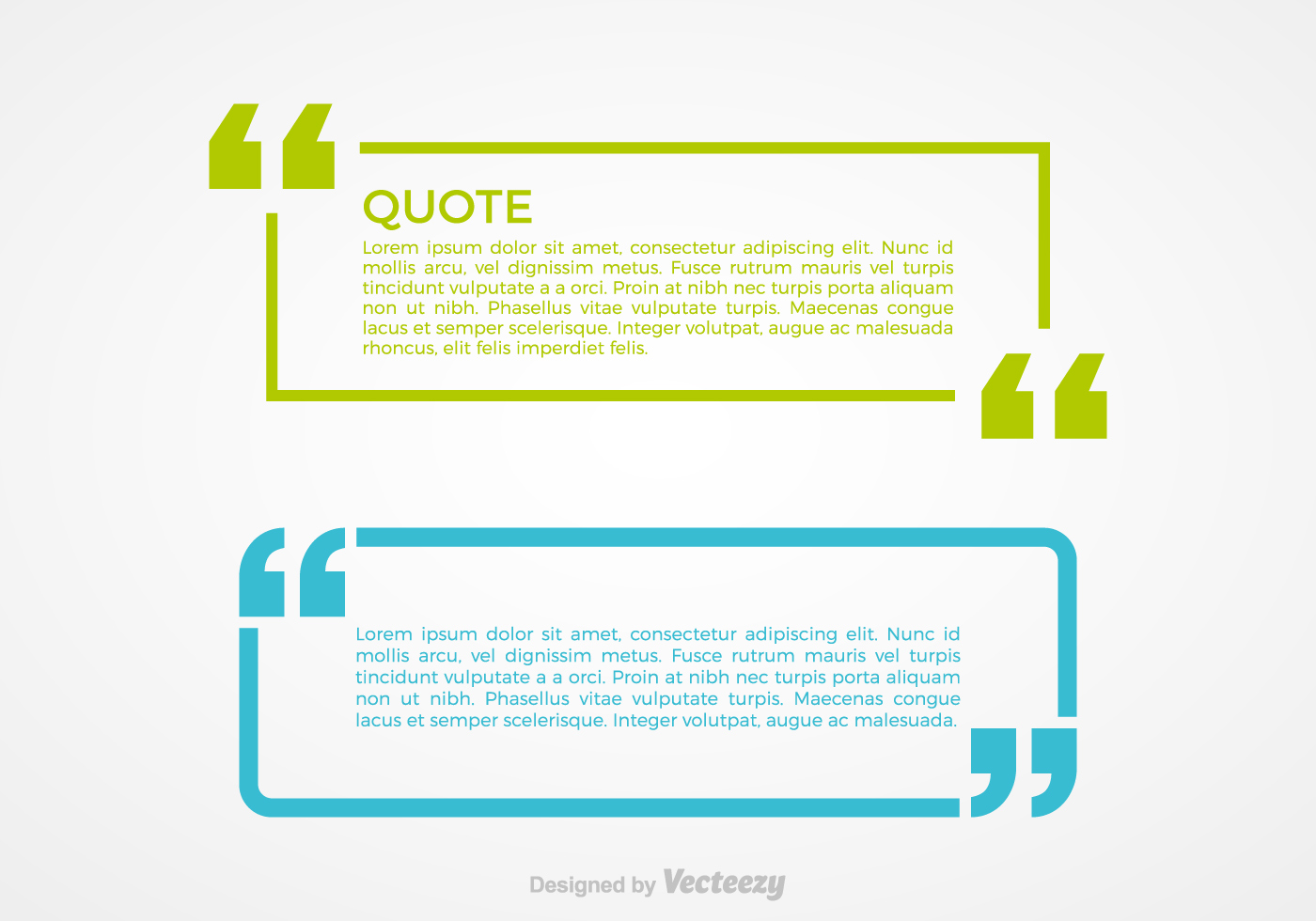 Quotation Marks Vector