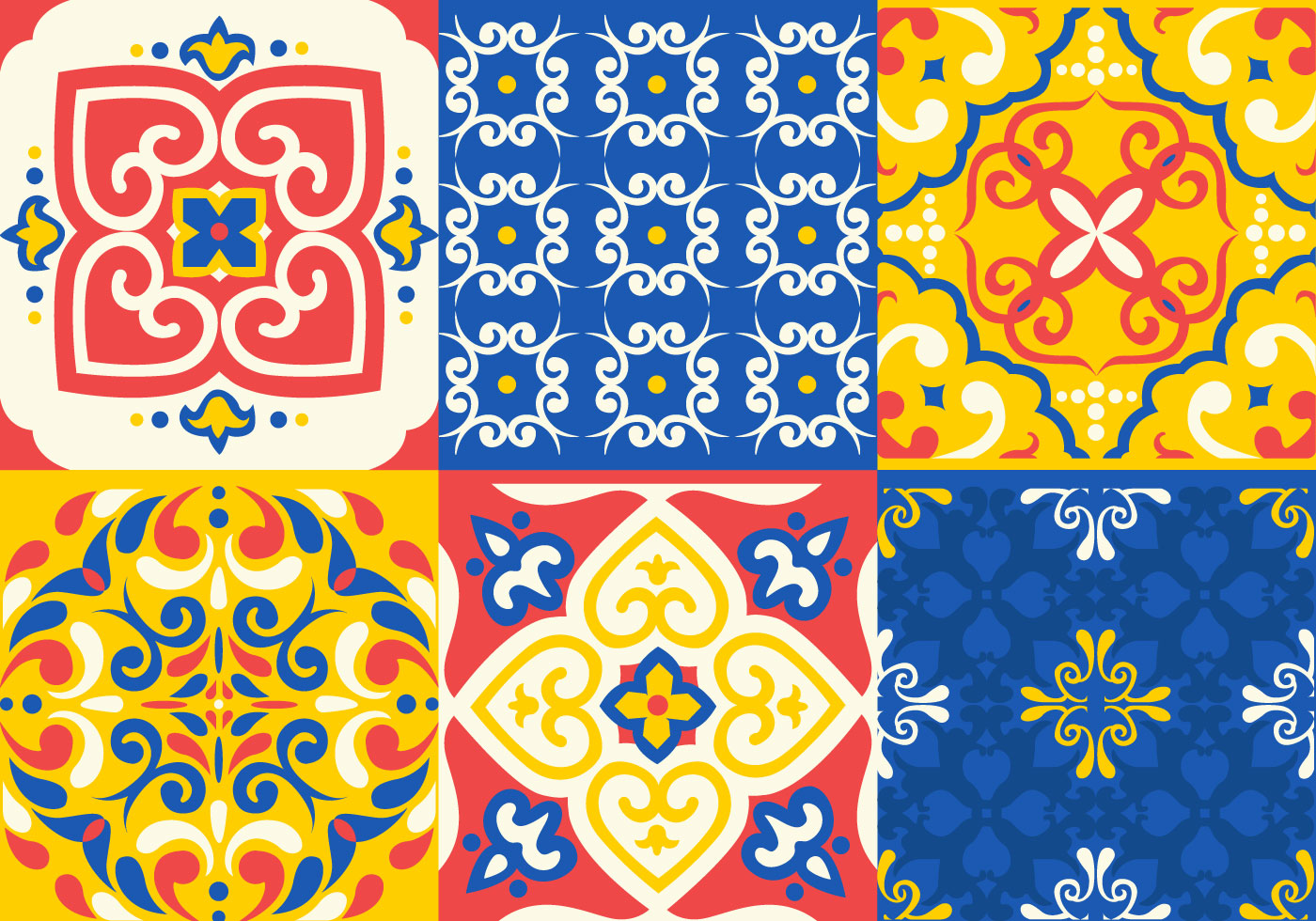 Azulejo Tile Vectors Download Free Vector Art Stock