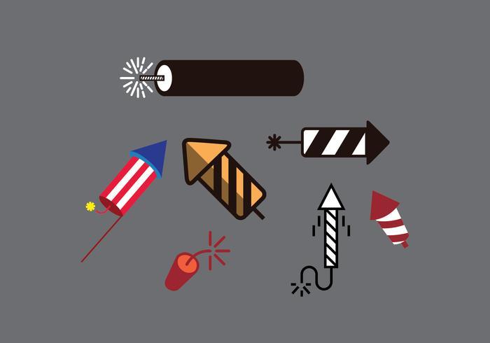 Fire Cracker Illustrations