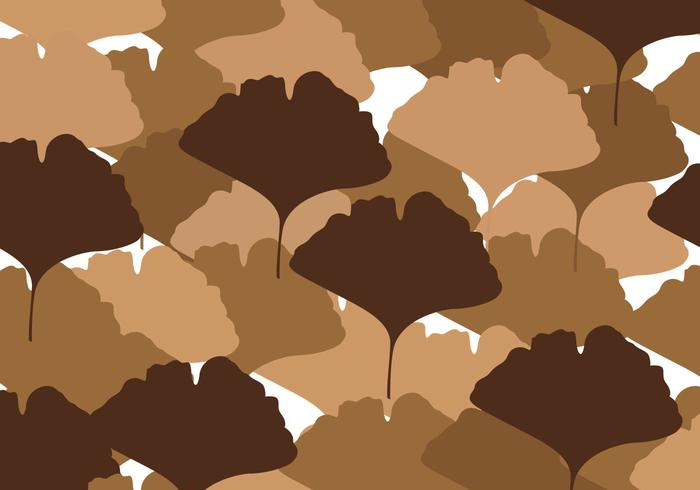 Free Ginkgo Leaves Vector