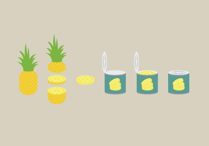 Ananas Illustration Pack