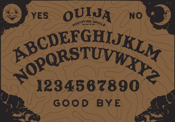 Ouija Board Vector