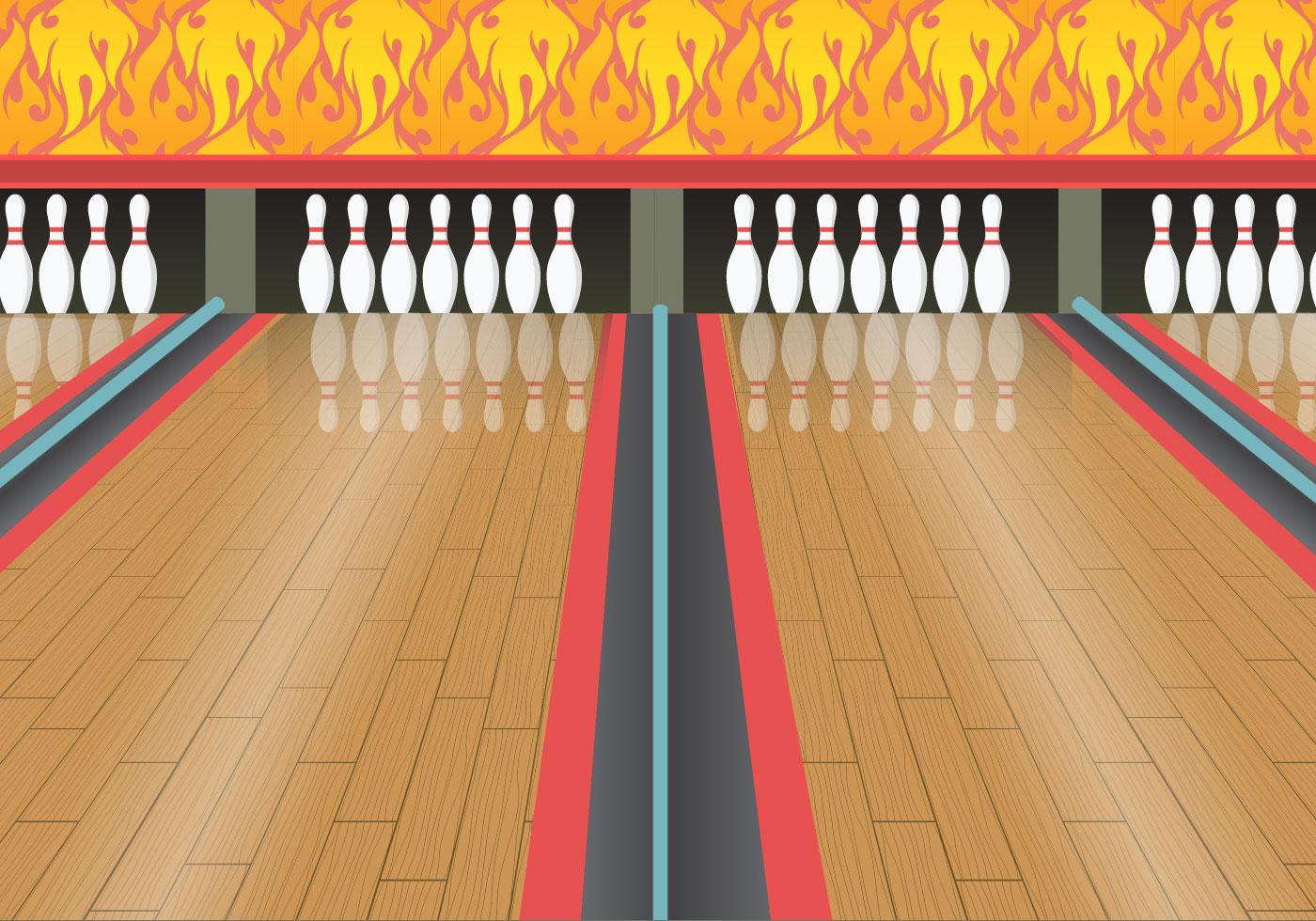 bowling lane wood