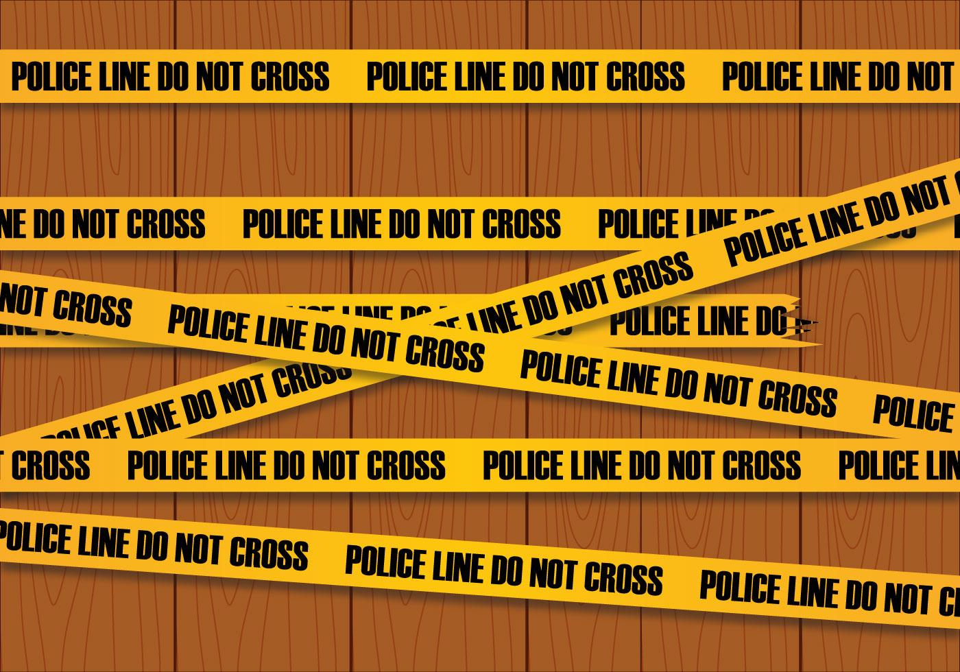 Police Line Vector Download Free Vector Art Stock