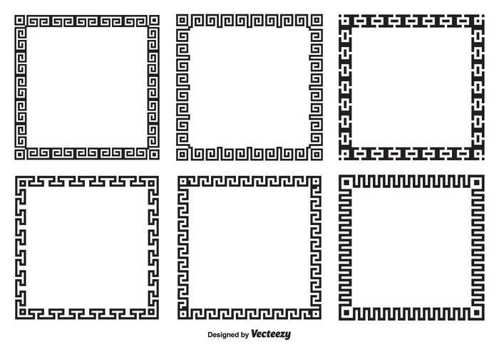 Greek Key Border Style Frames