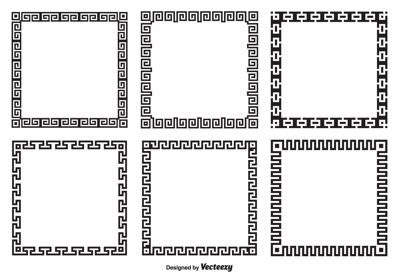 Greek Key Border Style Frames - Download Free Vector Art ...