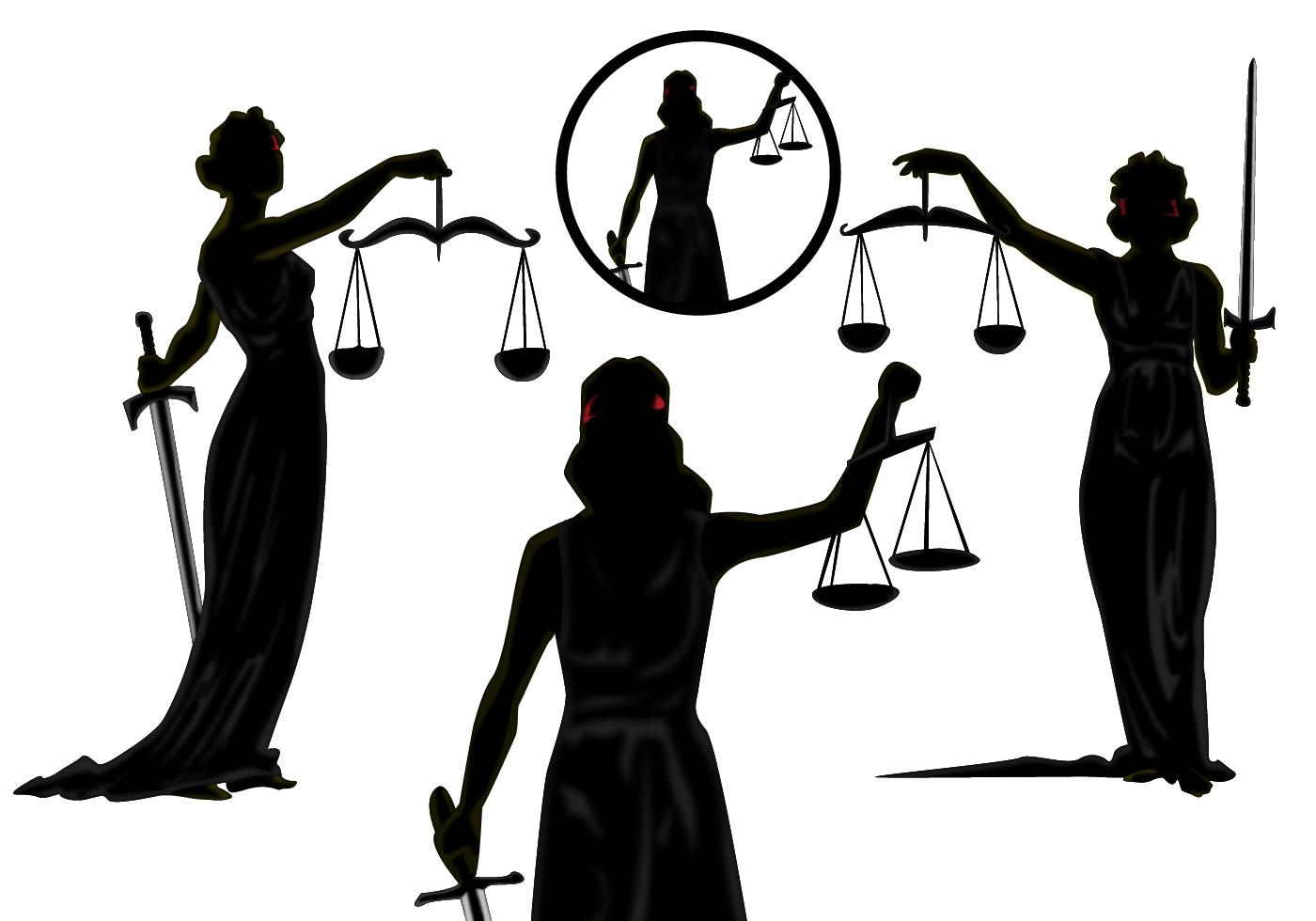 Lady Justice Vectors Download Free Vector Art Stock
