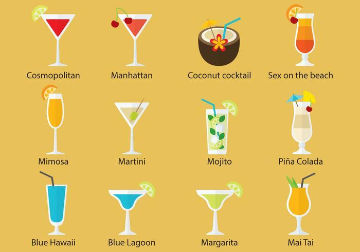 Cocktail Vectors