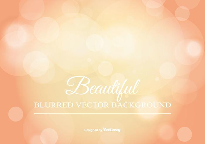 Beautiful Blurred Bokeh Background vector
