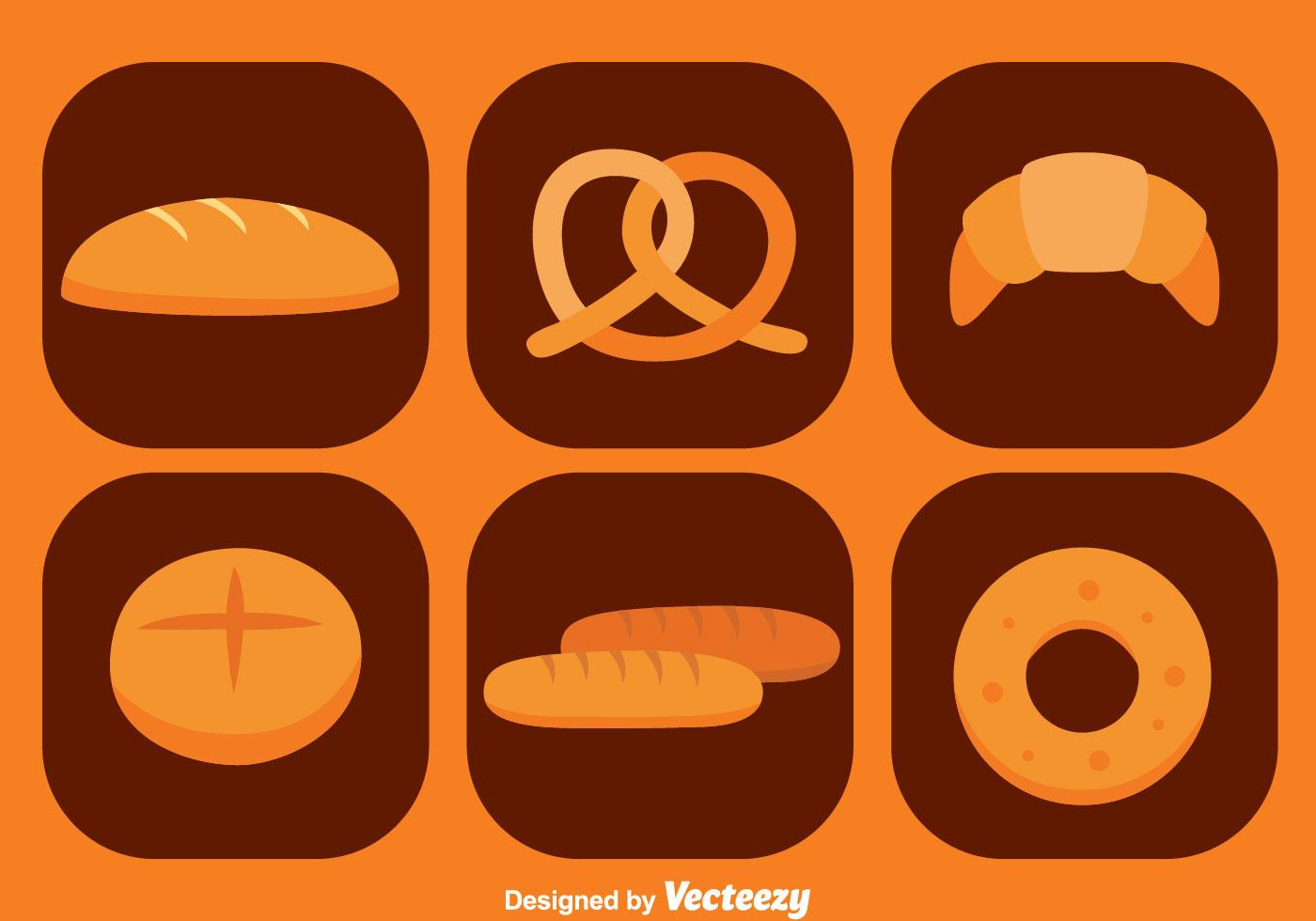 картинка векторная графика хлеб и производство быстро