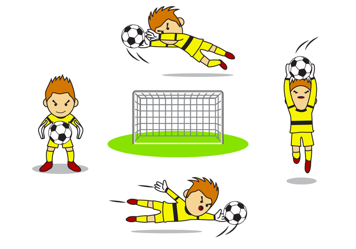 Free Goal Keeper Vector