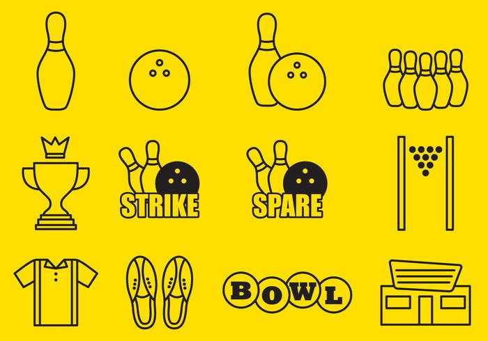 Bowling iconen