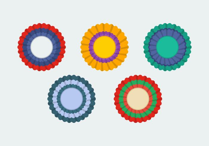 Free Cockade Vector Illustrations