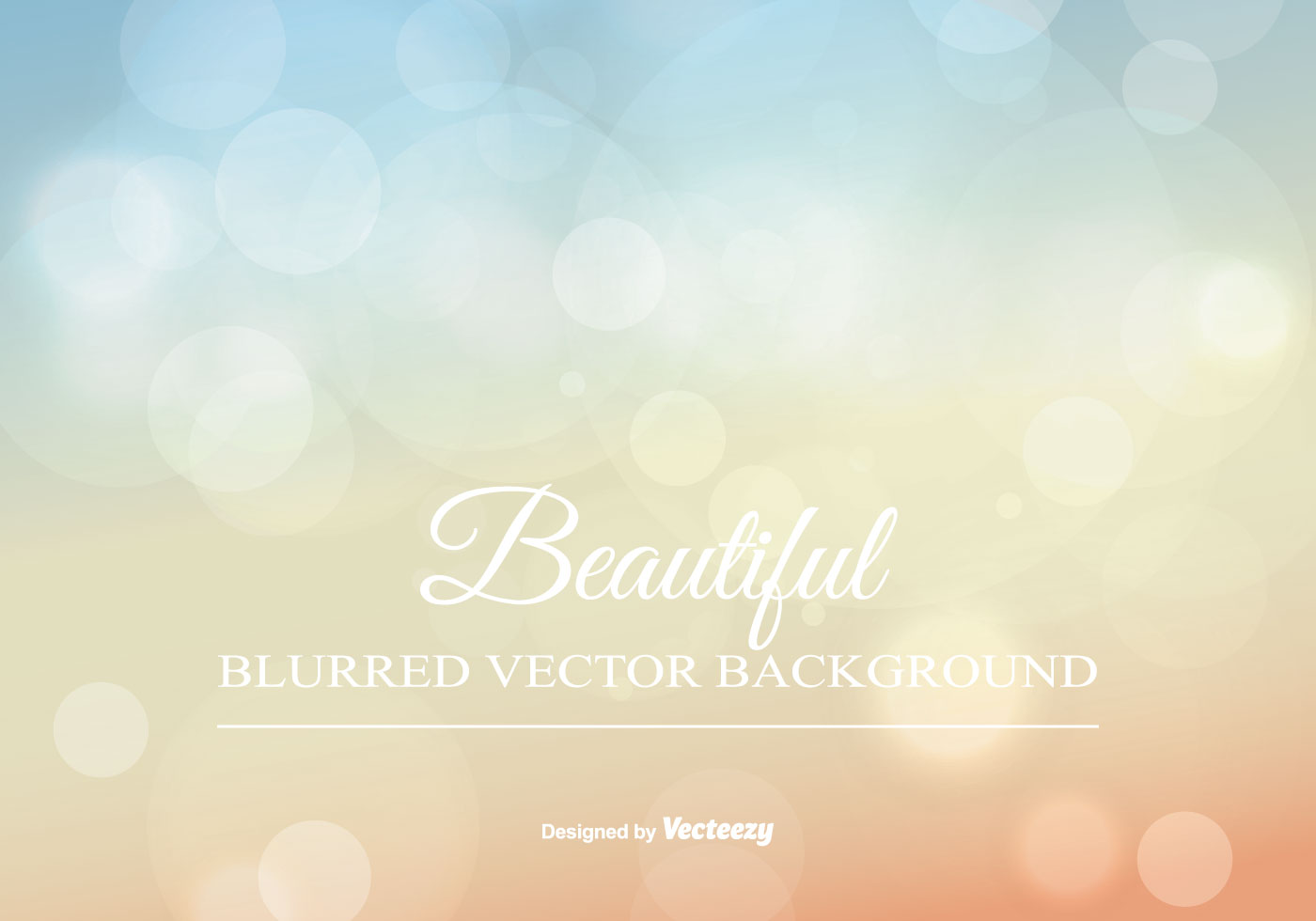 Enjoy Tropical Summer Holidays Backgrounds Vector 04 Free: Beauitiful Blurred Summer Background