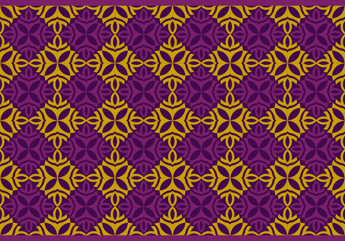 Seamless Thai Pattern Vector Background - Download Free ...