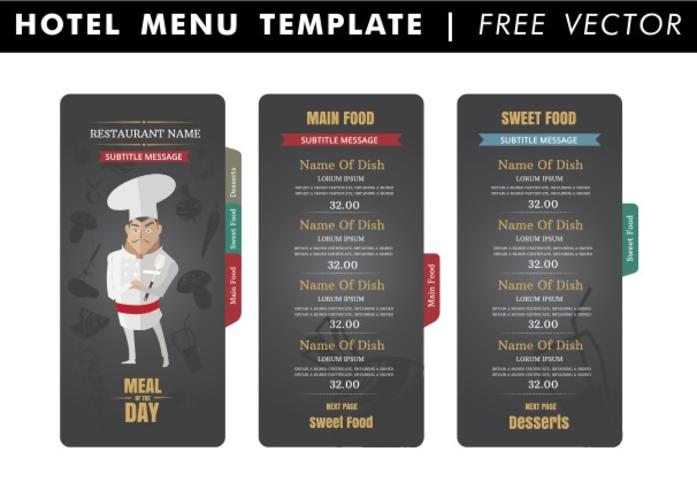 Hotel Menu Free Vector Art - (2680 Free Downloads)