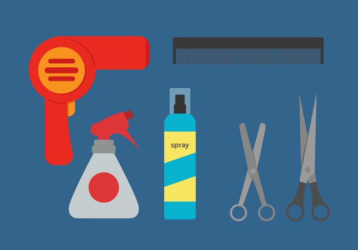 Barber Tools Vector